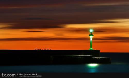 Green Beacon © Niels Christian Wulff