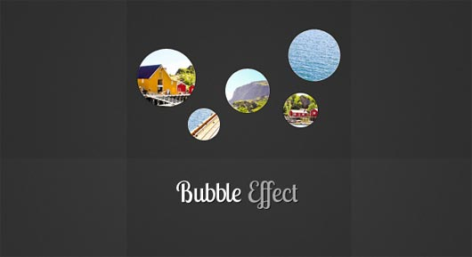 Bubble Slideshow Effect with jQuery