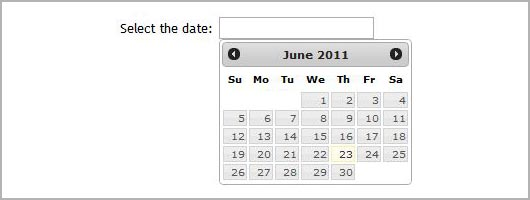 Integrating Datepicker with jQuery