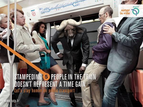 RATP Print Ad For Inspiration