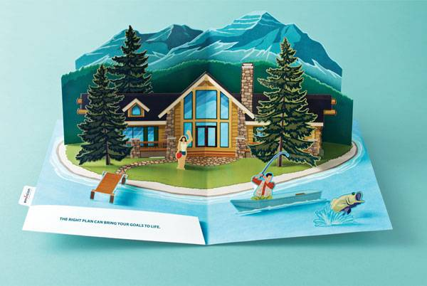 Envision Financial: The right plan can bring your goals to life Print Ad For Inspiration