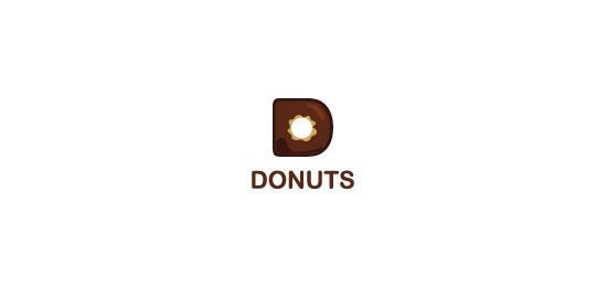 Donuts logo design