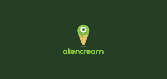 Alien cream logo