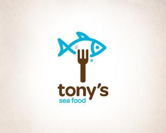 Tonys/SeaFood logo