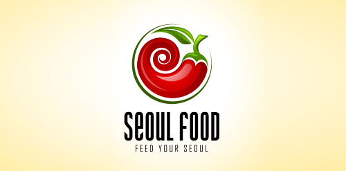 Seoul Food logo design