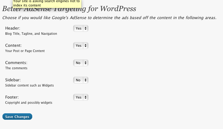 wordpress plugin for adsense