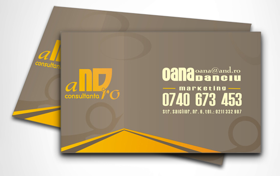 corporate AND 2 free business card template