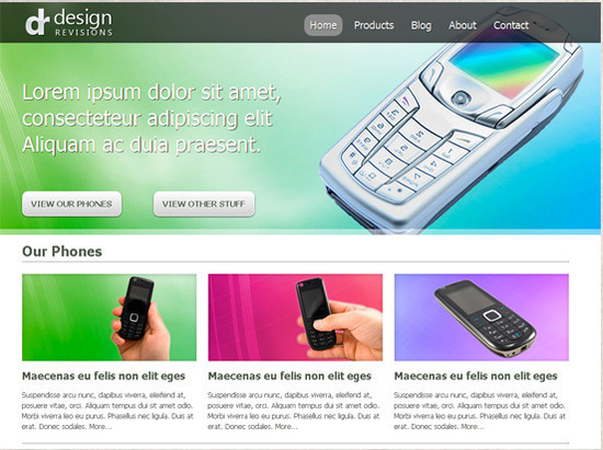Vibrant Professional Web Design HTML5 And CSS3 Templates