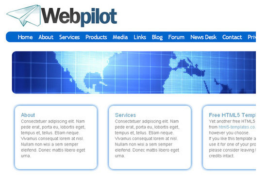 Web Html5 Templates - HTML5 And CSS3 Templates