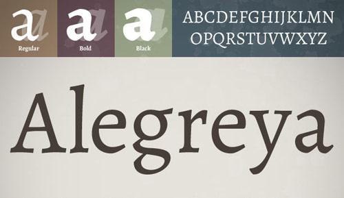 fresh creative fonts