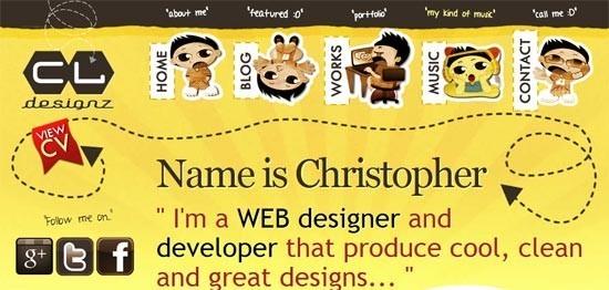 navigation menu in web design