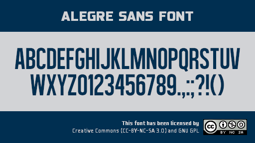 Alegre Sans font collection