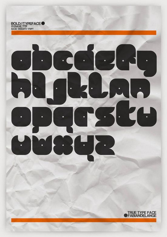 01.BASE font collection