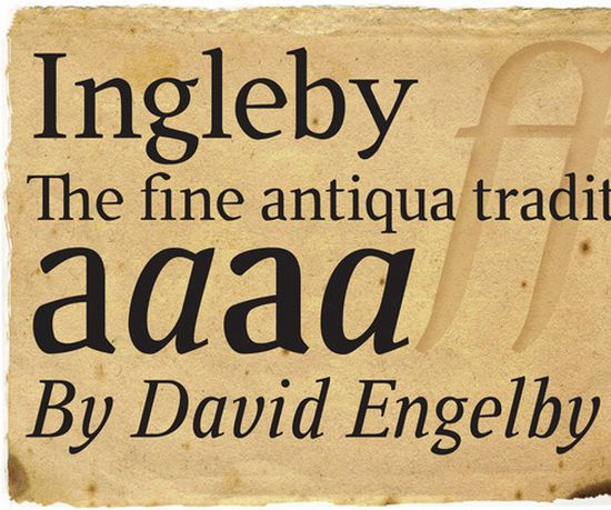 Ingleby Font font collection