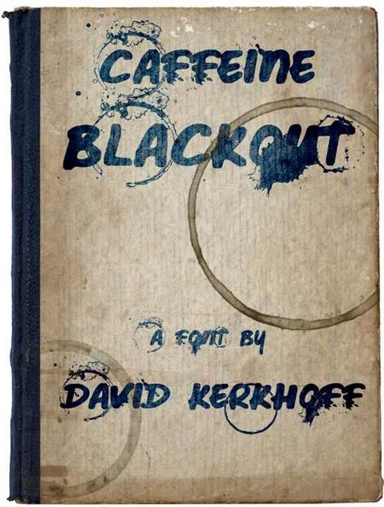 Caffeine Blackout font collection