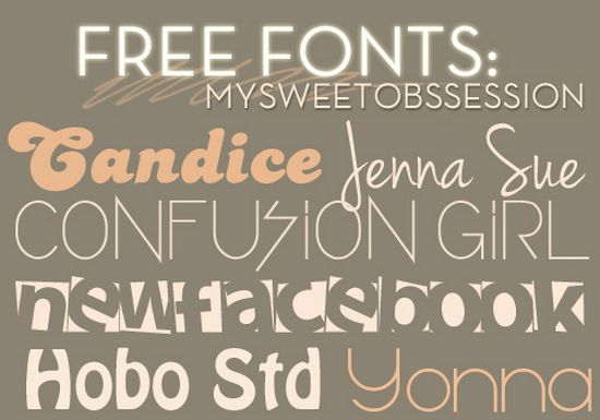 Pack Free Fonts2 - cool free fonts