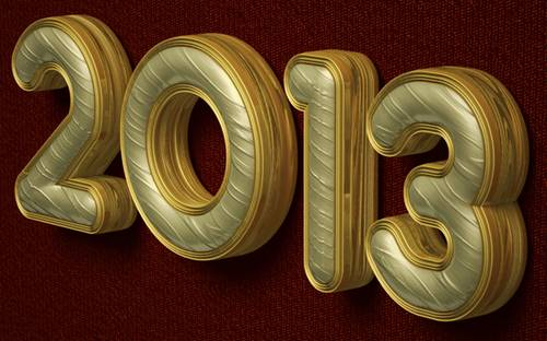 Royal 3D Text Effect in Photoshop CS6