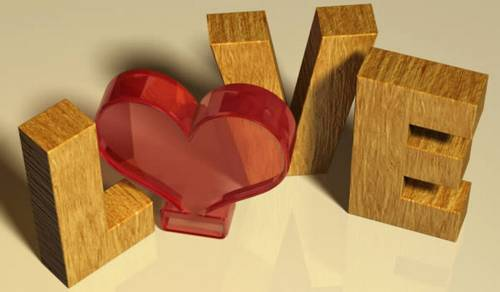 Create a Valentine's Day-Inspired 3D Text Effect Using Filter Forge and Photoshop