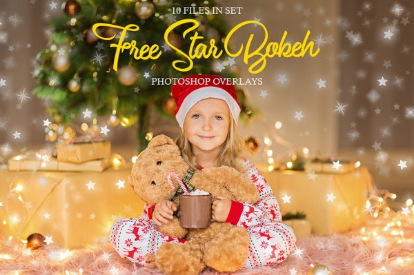 Free Star Photoshop Bokeh Overlays Collection