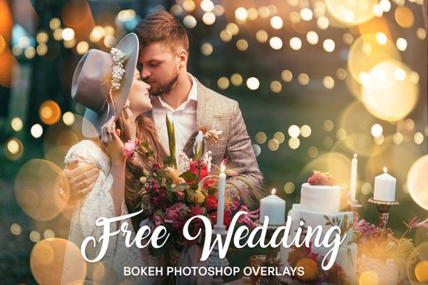 Free Wedding Light Bokeh Overlays Collection