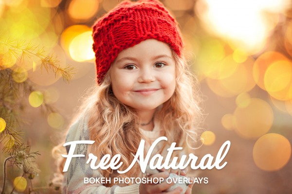 Natural Bokeh Light Overlays Collection