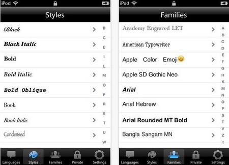Font Designer - fonts iphone apps