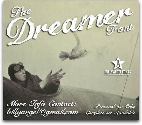 The Dreamer font