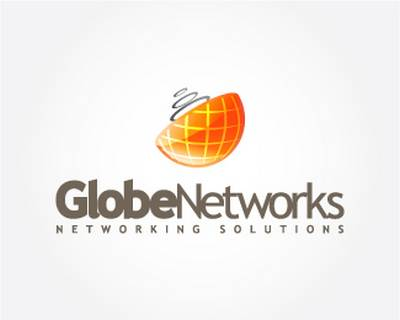 GlobeNetworks (colored) by GRAFIXIDEA  Globe Logo Design