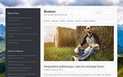 Kansas Free HTML5 Responsive Theme