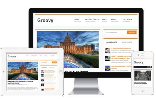 Groovy HTML5 Theme