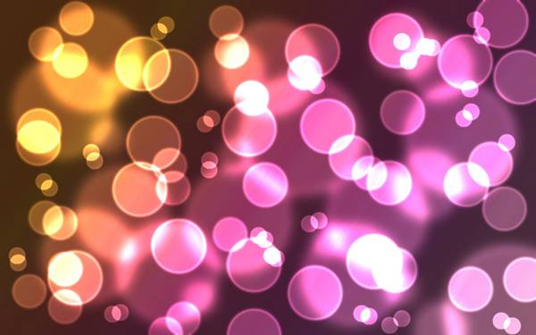 lights bubbles - Wallpaper