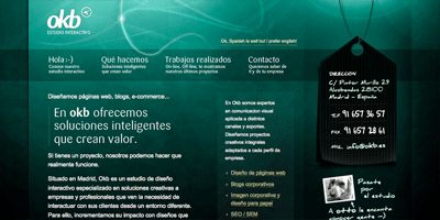 light effect web design