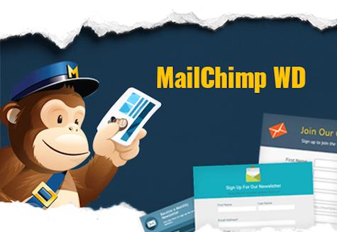 WordPress MailChimp WD