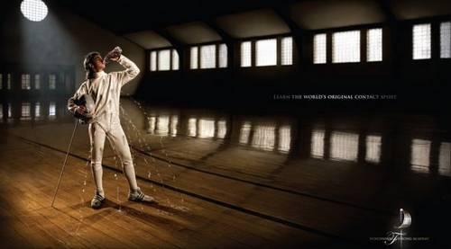 sport print ads