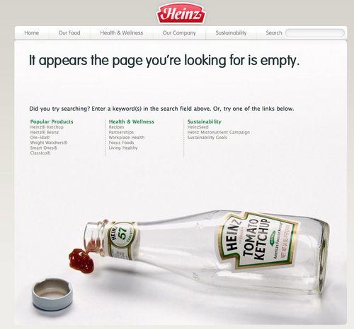 Heinz - error