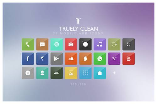Truely Clean Icons