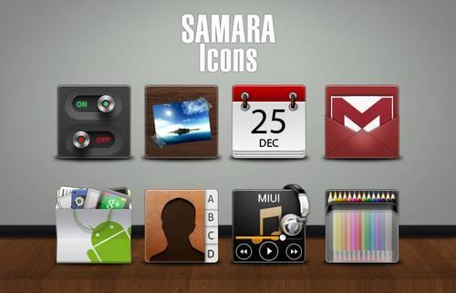 SAMARA Icons