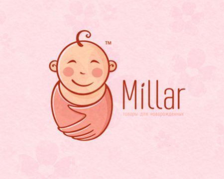 baby logo : Millar by phew