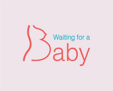 baby logo : Waiting for a baby by Milenska