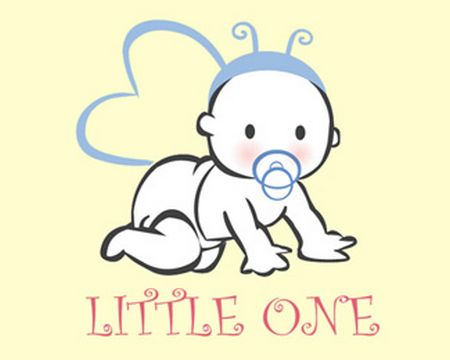 baby logo : little one by helendia