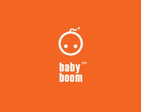 baby logo : Baby Boom by WISNNIA