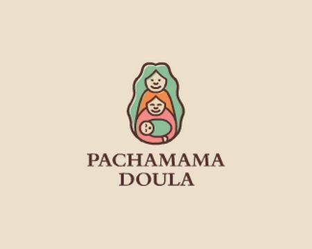 baby logo : Pachamama Doula by Brandsanity