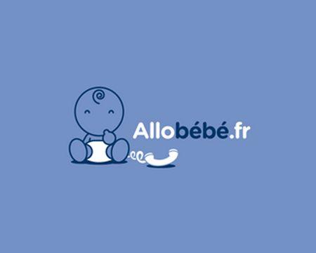 baby logo : Allobébé by Whoswho