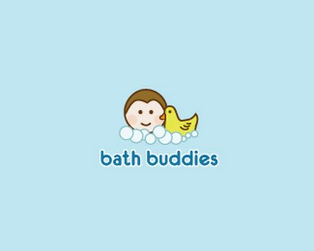baby logo : bath buddies by lumo