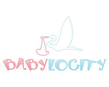 baby logo : Babylocity by beautifullybusy