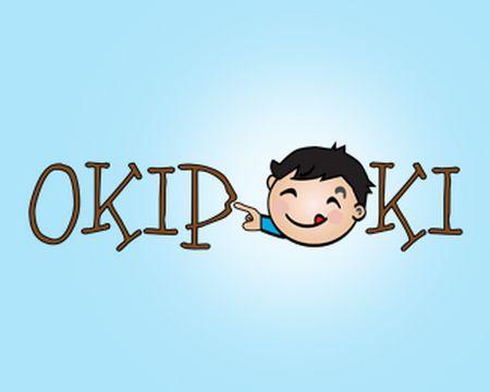 baby logo : Okipoki by lboi