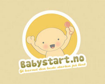 baby logo : Baby Start by OneGiraphe
