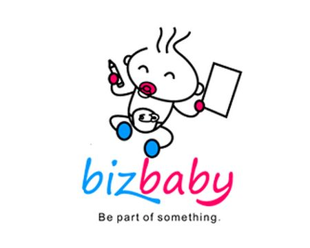 baby logo : Biz Baby by jojodesign