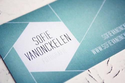 Sofie Vanonckelen business card