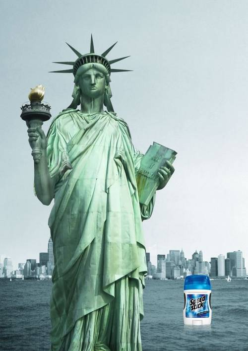 Speed Stick: Statue of Liberty